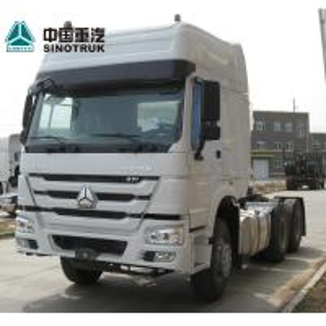 China Diesel Tractor Trailer Truck 6X4 10 Wheels Euro2 371HP ZZ4257S3241W on sale