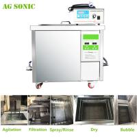 Best 360L Auto Parts Ultrasonic Cleaner with 28khz Strong Frequency Power Adjustable wholesale