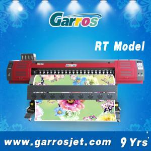 Best Digital Textile Sublimation Printing Machine Garros RT1801 Double DX5 High Resolution wholesale