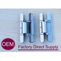 Best Die Casting zamak 2D concealed adjustable rebated door hinges 180 degree wholesale