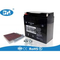 Best AGM Sealed 250cc Motorcycle Battery 12v 17Ah Rechargeable Maintenance Free wholesale