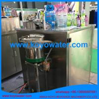China liquid milk juice water stand up retort spout pouch filling machine on sale