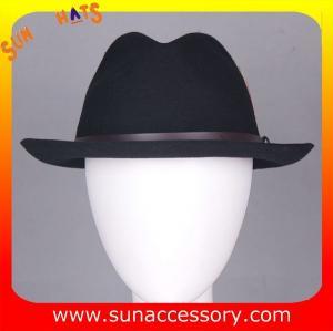 Best 8141088 Sun Accessory customized  winner  fashion 100% Australia wool felt fedora hats, men hats and caps wholesaling wholesale