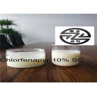 Best Low Residue Chlorfenapyr 10 SC , Systemic Insecticide For Fruit Trees wholesale