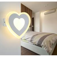 Best Matt white Acrylic LED wall lights /inside led wall lamps for hotel rooms wholesale