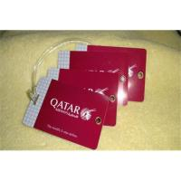 Buy cheap Luggage card,Luggage card supplier,pvc Luggage card ,paper Luggage card from wholesalers