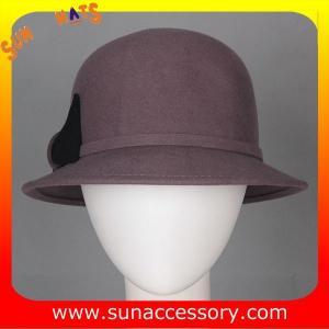 Best T1631162 Sun Accessory customized  winner  fashion 100% wool felt cloche hats, women hats and caps wholesaling wholesale