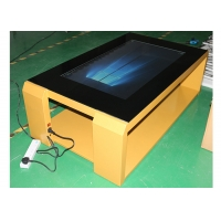 """Best 43"""" 49"""" Golden Touch Surface Table Capacitive 10 Points Touch wholesale"""