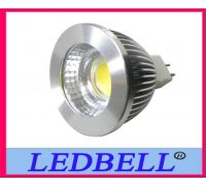 Best 12V 5W MR16 COB Warm White Led Spot Lamps , High power MR16 LED COB wholesale