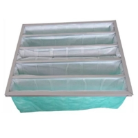 Best Green Color F6 Pocket Air Filter For Operating Room AHU wholesale