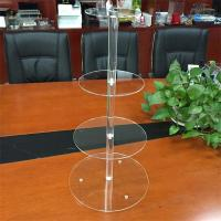 Best 4 tiers acrylic wedding cake display rack wholesale