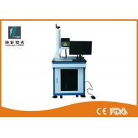 Best Metal Tube Mini Laser Marking Machine , Air Cooling Plastic Engraving Machine wholesale
