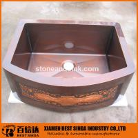 Buy cheap CSA approved hammered kitchen vessel sinks product