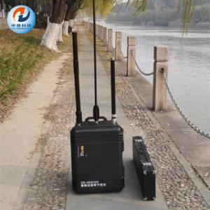 Best Portable Bomb Signal Jammer 100m Jamming Distance With 120w Low Output Power wholesale