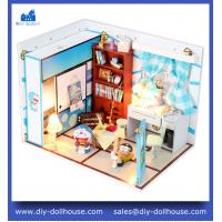 China Wooden house model handmade diy cottage M004 on sale