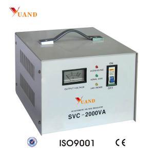 Best SVC-2000VA Single Phase Home Appliances Used Voltage Stabilizer wholesale