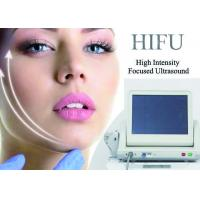 Best Non Invasive Hifu Ultrasound Facelift Machine Skin Tightening Removing Neck Wrinkles wholesale
