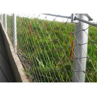 China 316 Stainless Steel Balustrade Wire Mesh Ferrule Type Size Customized on sale