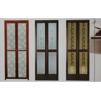 Best 1.0mm profile thickness powder coated aluminum bifold doors for bathroom, kitchen wholesale