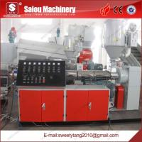 China double pvc pipe extrusion machine on sale