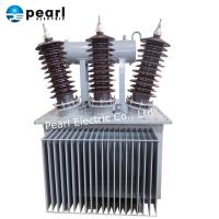 Buy cheap 630kVA 33kV Oil Immersed Transformer With Oil Tank And Iron Core from wholesalers