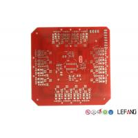 Best Double Sided Heavy Copper PCB Board , Lead Free HASL Metal Backed PCB Red Solder Mask wholesale