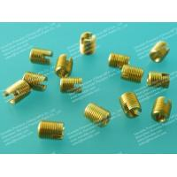 China Self-tapping Threaded Inserts, Brass Self-tapping Inserts, Thread forming Inserts on sale