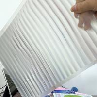 Best PET 51X71CM 75LPI 0.45mm Lenticular Sheet with super transpancy for making Lenticular 3D Cards by UV printer in Spain wholesale