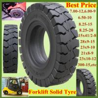 China Top Quality Industrial Forklift Solid Tyre 10.00-20 on sale