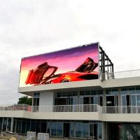 Buy cheap commercial Outdoor Full Color Led Display p10 led big outdoor advertising screen from wholesalers