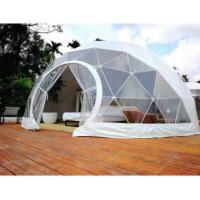 China 4M Garden Igloo Geodesic Dome Tent , Outdoor Geodesic Event Dome House Tent on sale
