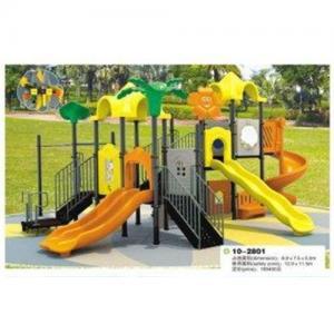 Best LLDPE Plastic Rubber coat Steel Backyard Kids Outdoor Playground Equipment for School wholesale