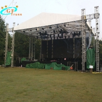 Best 390mmx390mm Aluminum Roof Truss System For Stage Prerformance wholesale