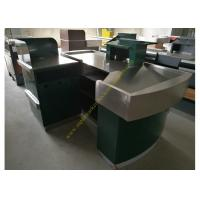 Best Stainless Steel Supermarket Checkout Counter wholesale