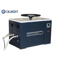 China Water Cooling Plastic Business Card Making Machine , A4 Manual Credit Card Laminator on sale