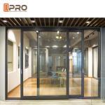 Best Powder Coated Aluminium Sliding Glass Doors For Construction Buildings interior door sliding door frame wholesale