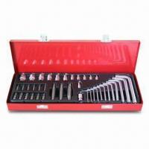 Best 40-piece Socket Comprehensive Tool Set with 12 Sockets, 12 Torx Inserted Bit Sockets, Cr-V Finished wholesale
