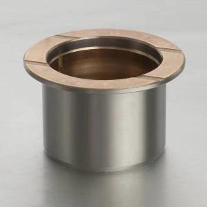 Best Collar Type Bimetallic Bearing Bushes For Track Roller wholesale