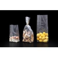 China Printed Plastic Block Bottom Cellophane Bags Food Packaging Customized on sale