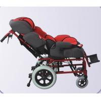 China Aluminum adjustable Reclining Wheel Chair for baby cerebral paralysis on sale
