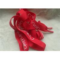 China Matte Screen Printing Silicon String Non Elastic Cord For Shoelace Or Trousers Rope on sale