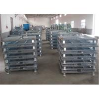 China Industrial galvanized wire mesh storage cage 1200 * 1000 * 890mm on sale