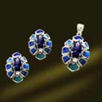 Best Silver Opal Jewelry Ring Set (RSK2424) wholesale