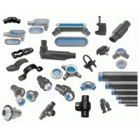 China Industrial SS Conduit Fittings , EMT Electrical Conduit Connectors And Fittings on sale