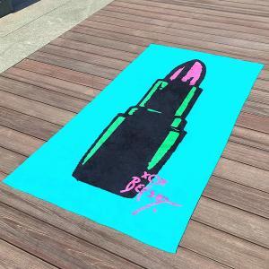 Custom Sexy Lips Sticks Large Advertising Promotional Beach Towel Betsey