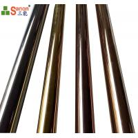 """Best 2"""" Cold Drawn Stainless Steel Tube Mirror Polished Golden ASTM A268 A269 wholesale"""