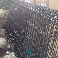 China Semicircular PVC Solid Fence Welded Wire Mesh Fence Panels Custom Size on sale
