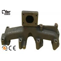 Cheap OEM Excavator Engine Parts 4BD1 Engine Exhaust Manifold 6 Months Warranty for sale