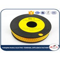 China High precision Plastic Colorful Cable Marker For Electric Wires on sale