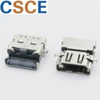 China Gold Plated 90 Degree HDMI Connector , High Wearing Right Angle HDMI Connector on sale